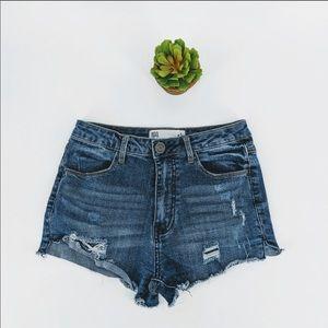 RSQ (Tillys) Maui High Rise Shorts